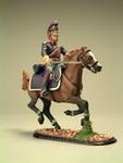 Офицер на коне (рука вперед)